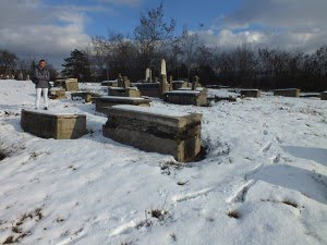 New Jewish cemetery Pristina, January 2012. Photo: Ivan Ceresnjes