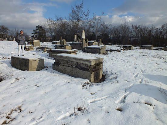 New Jewish cemetery Pristina, January 2012. Photo: Ivan Ceresnjes