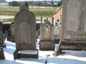 Jewish cemetery Hohenems, Austria March 2010. Photo (c) Ruth Ellen Gruber