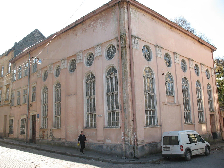 Jakub Glanzer synagogue in Lviv . Photo (c) Ruth Ellen Gruber