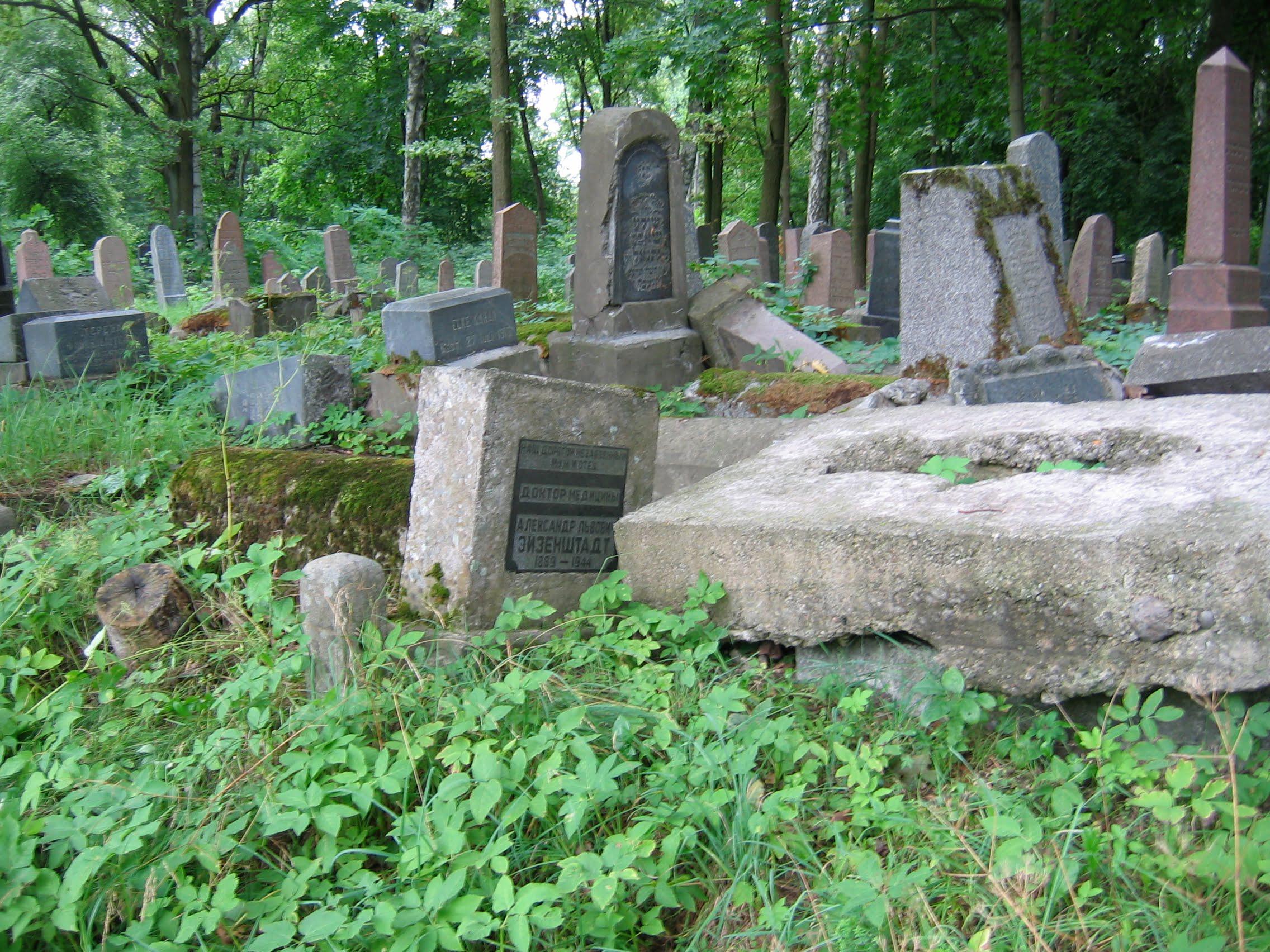 Kaunas Jewish Cemetery, 2006. Photo (c) Ruth Ellen Gruber
