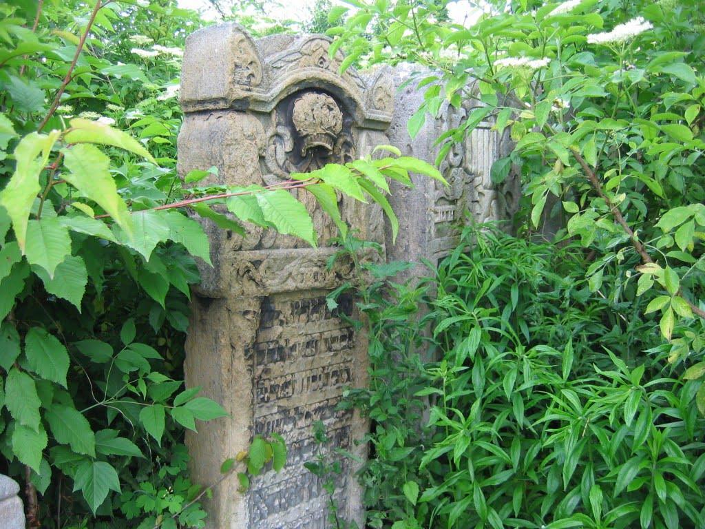 Jewish cemetery in Chernivtsi, Ukraine