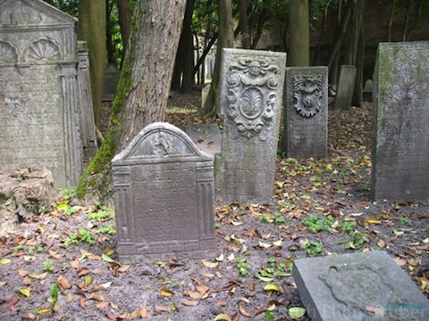 Old Jewish cemetery, Venice. Photo © Ruth Ellen Gruber