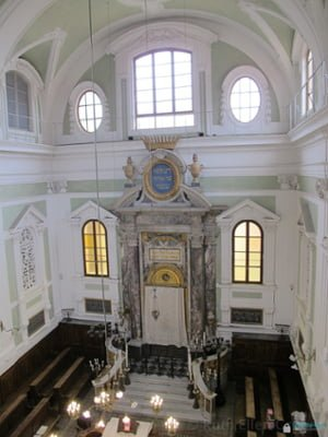 Siena, Italy -- Ark in the 18th century synagogue