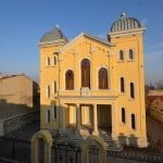 Exterior of renovated Great Synagogue in Edirne (official photo)