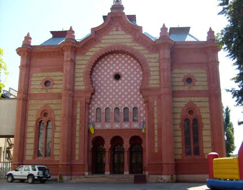 Uzhgorod synagogue, Photo: http://www.jewishheritage.org.ua
