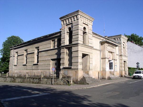 Nowy Sacz synagogue. Photo: PrzemekL via wikimedia