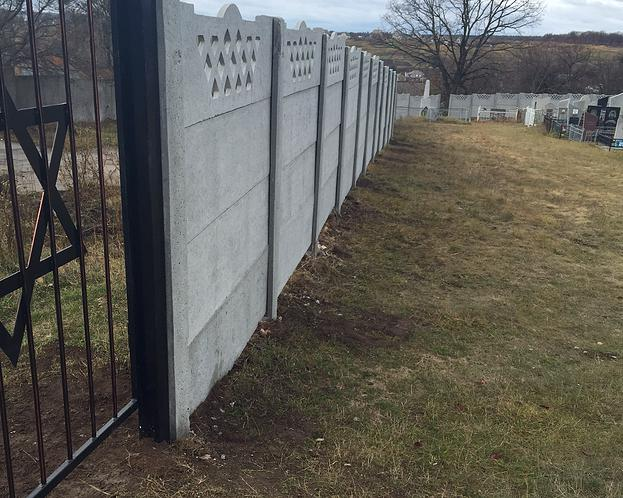 ESJF fence at Jewish cemetery in Bohuslav, Ukraine. Photo: ESJF