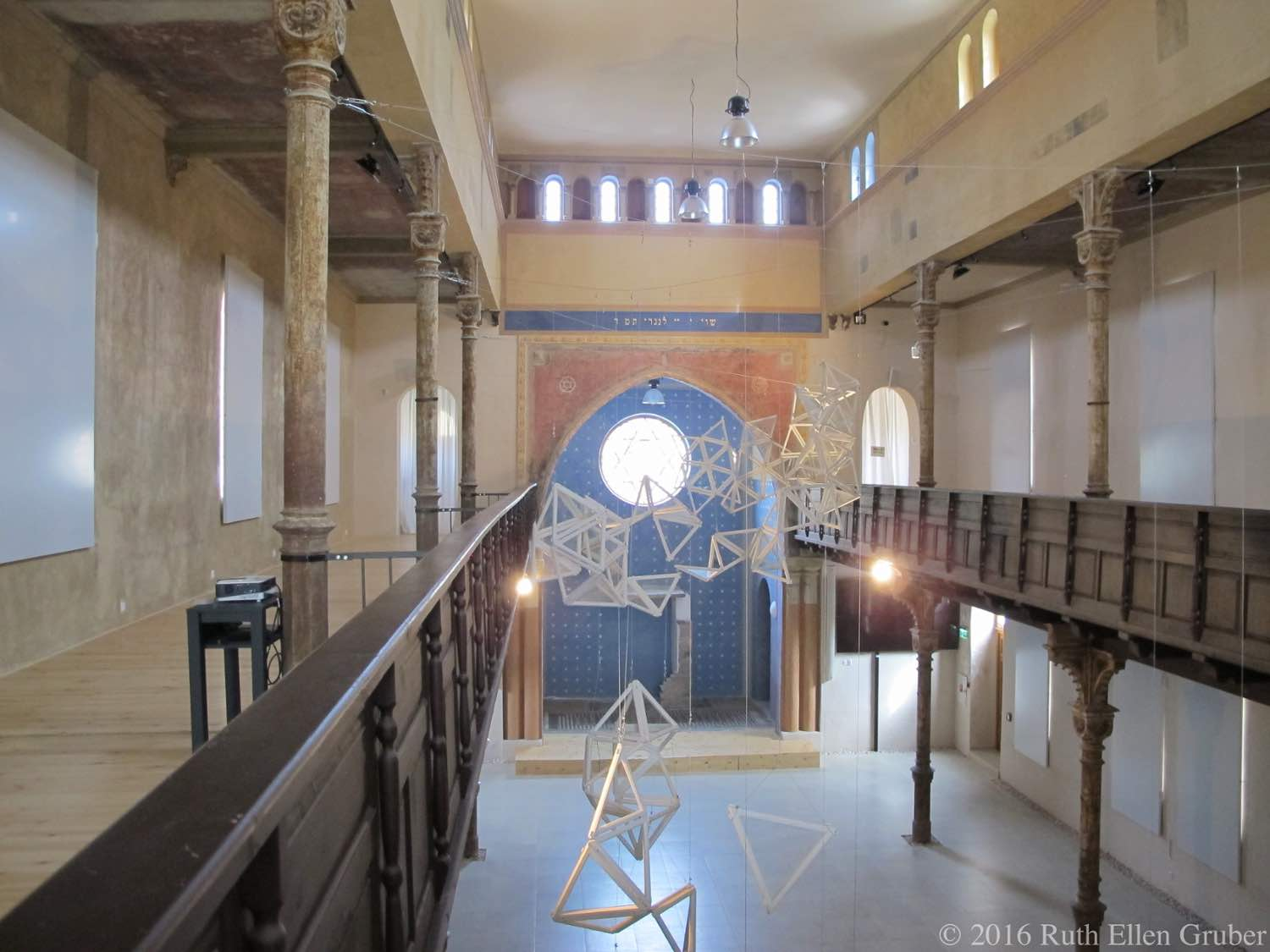 Trnava, Slovakia Status Quo synagogue, interior, with an exhibition