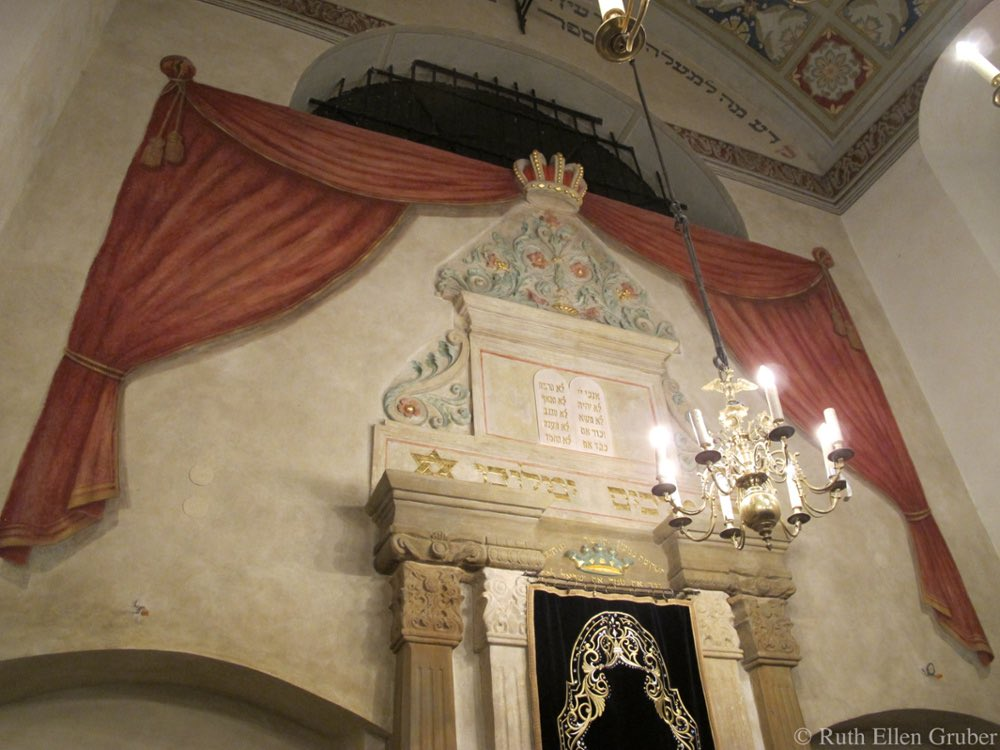 The ark in the Remuh synagogue