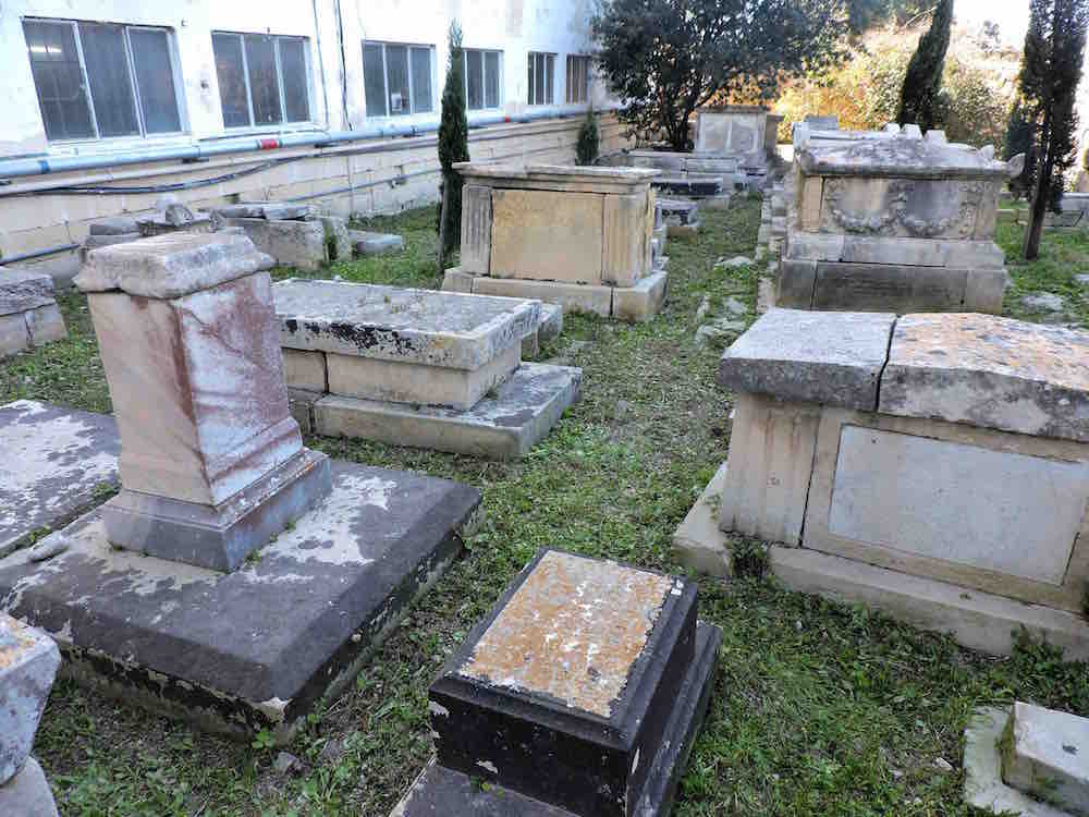 The Jewish section of Ta'Braxia cemetery, after clean-up. Photo: Ivan Ellul for BADa