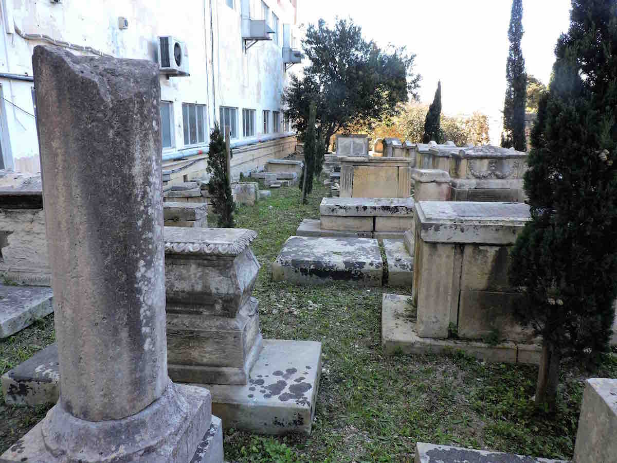 The Jewish section of Ta' Braxia cemetery, after clean-up. Photo: Ivan Ellul for BADa