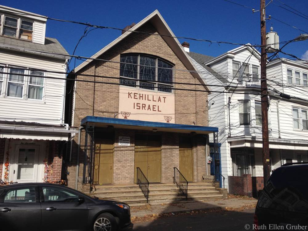 Former synagogue in Shenandoah, PA, now used as a church
