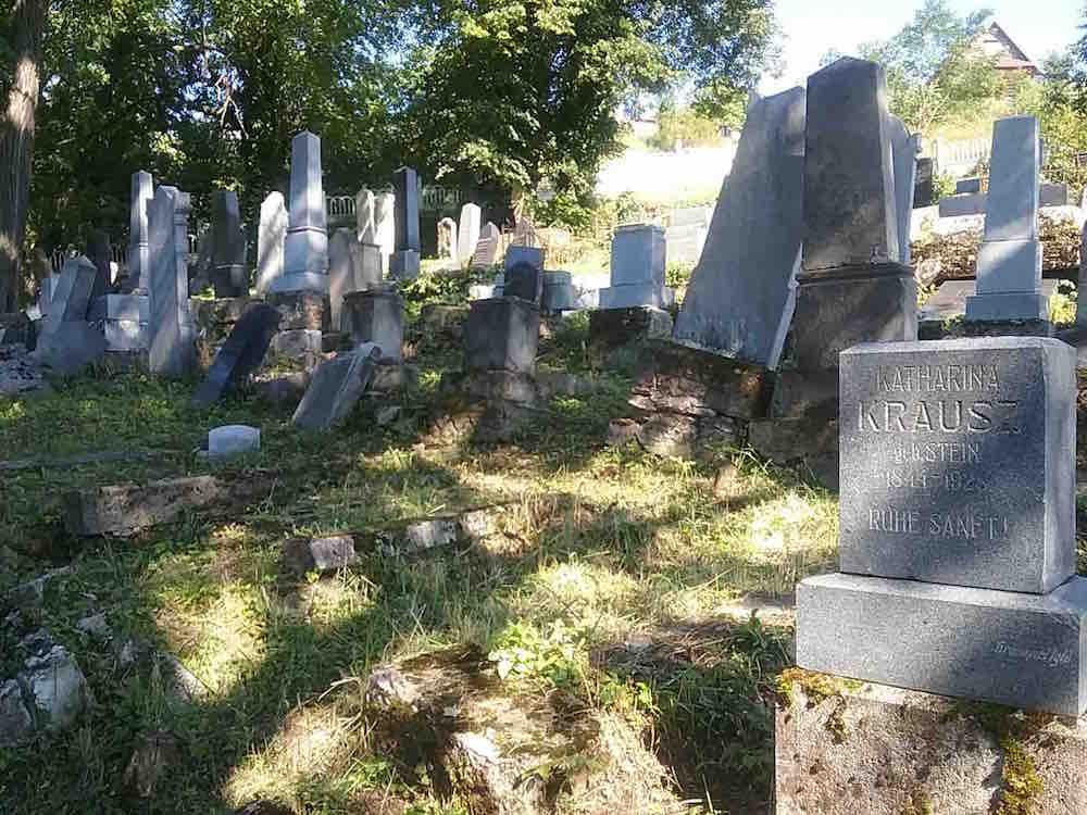 The Jewish cemetery in Levoča, Slovakia. Photo © David Conway