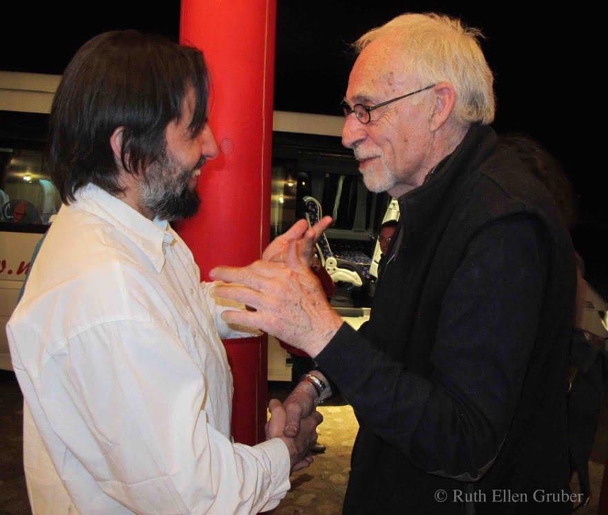 Krzysztof Czyzewski and Nikos Stavroulakis, Sejny, Poland, 2012