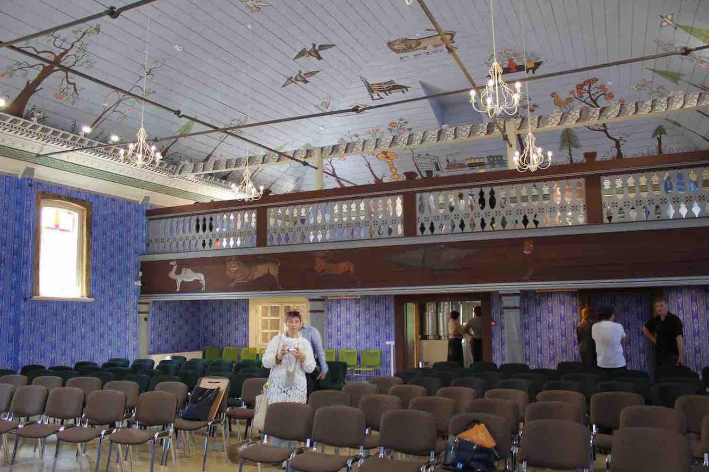 Interior of the Pakruojis synagogue. Photo: EEA