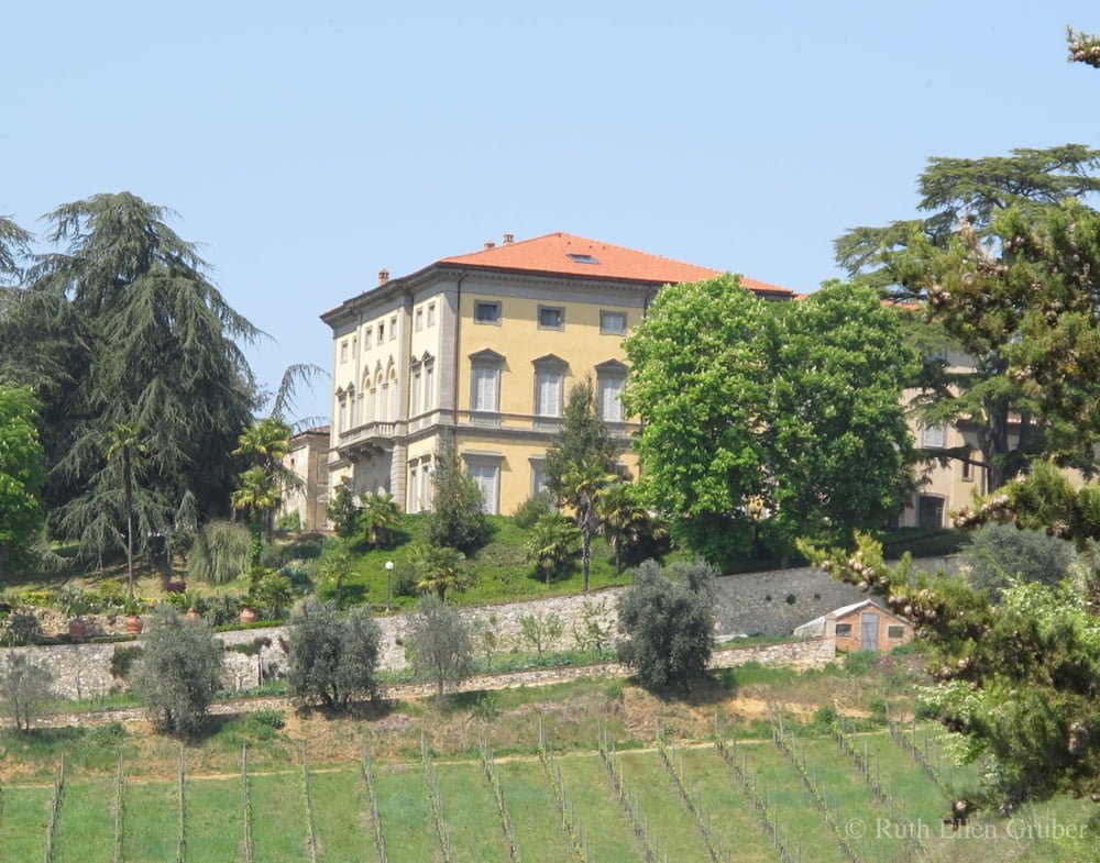 The estate and villa of Monaciano, near Siena, Italy, has been owned by a Jewish family for more than 70 years.