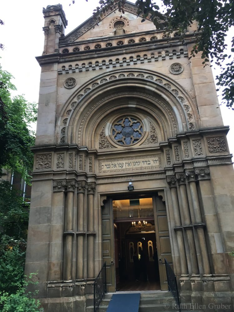 Garnethill synagogue, main entry