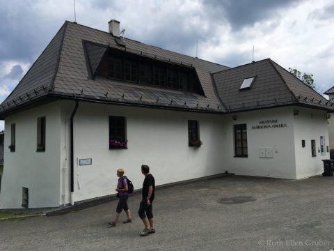 Opening new Simon Adler Museum @ Dobra Voda, CZ | Hartmanice | Czechia