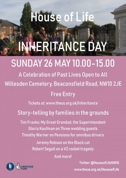 Inheritance Day @ Willesden Jewish Cemetery | England | United Kingdom