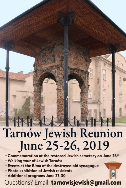 Rededication Tarnow Jewish Cemetery