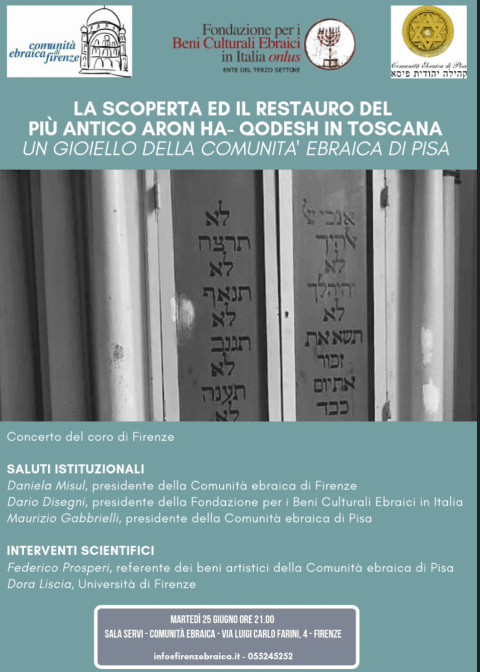 Presentation of restored 16th century Ark @ Florence Jewish community | Firenze | Toscana | Italy