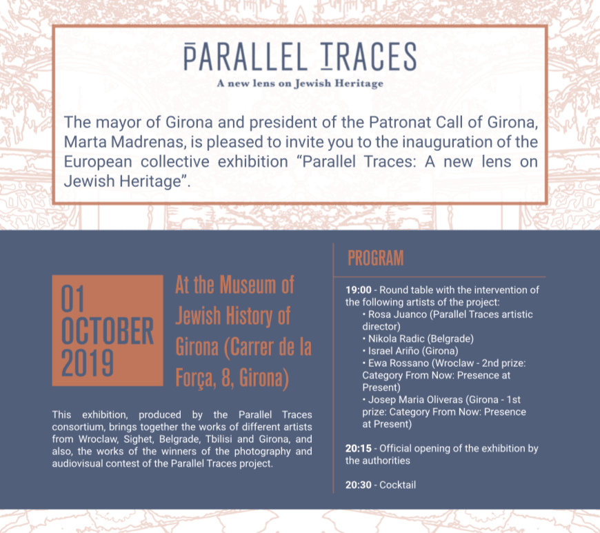 Parallel Traces photo exhibit @ Museum of Jewish History of Girona | Girona | Catalunya | Spain
