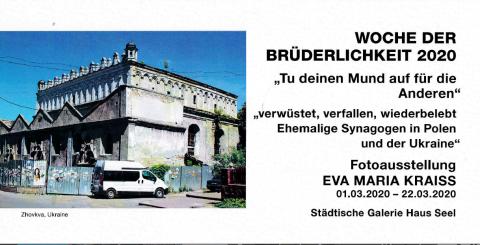 Devastated, Decayed, Revived - Former Synagogues in Poland and Ukraine @ Städtischen Galerie Haus Seel, Siegen | Siegen | Nordrhein-Westfalen | Germany
