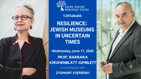 WEBINAR: Resilience -- Jewish Museums in Uncertain Times