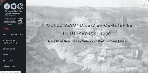 A World Beyond: Jewish Cemeteries in Turkey 1583-1990 @ online