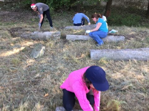Jewish cemetery cleanup in Tallya, Hungary @ Jewish cemetery Tallya | Tállya | Hungary