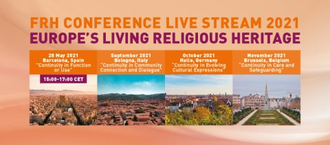 Future for Religious Heritage conference @ Online webinar