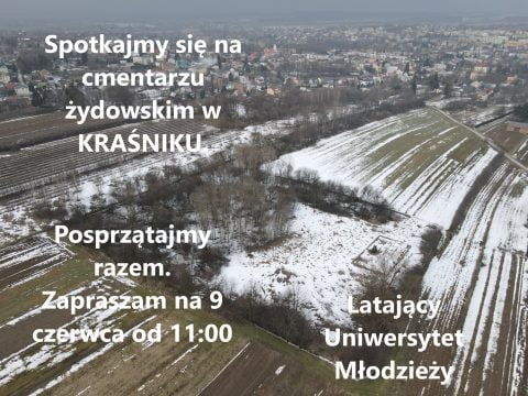 Krasnik Jewish cemetery cleanup @ Jewish cemetery Krasnik   Kraśnik   Lubelskie   Poland