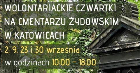 Jewish cemetery Katowice clean-up @ Katowice Jewish cemetery | Katowice | Śląskie | Poland