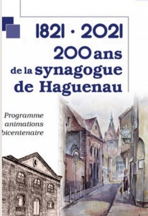 1821-2021: 200 Years of the Haguenau Synagogue @ IUT de Haguenau | Haguenau | Grand Est | France