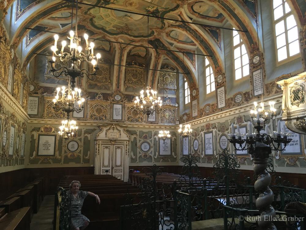 The synagogue in Casale Monferrato