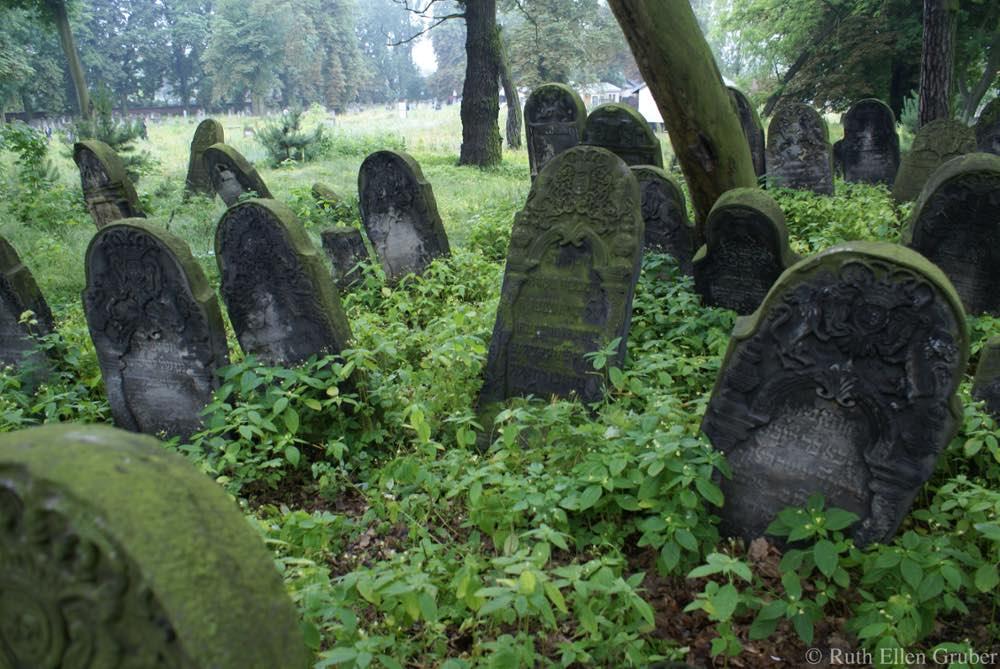 Jewish cemetery in Piotrkow Trybunalski, Poland