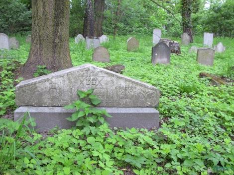 Jewish cemetery, Oswiecim, Poland.