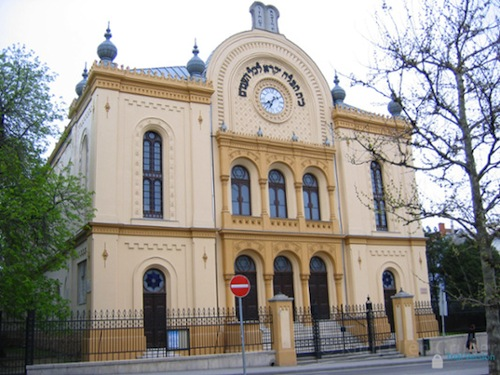 Synagogue in Pécs, Hungary. Photo © Ruth Ellen Gruber