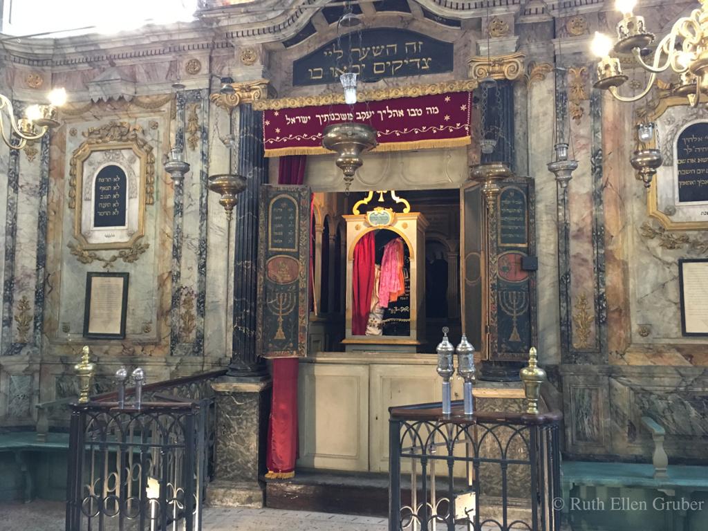 Ark, Carpentras synagogue, France