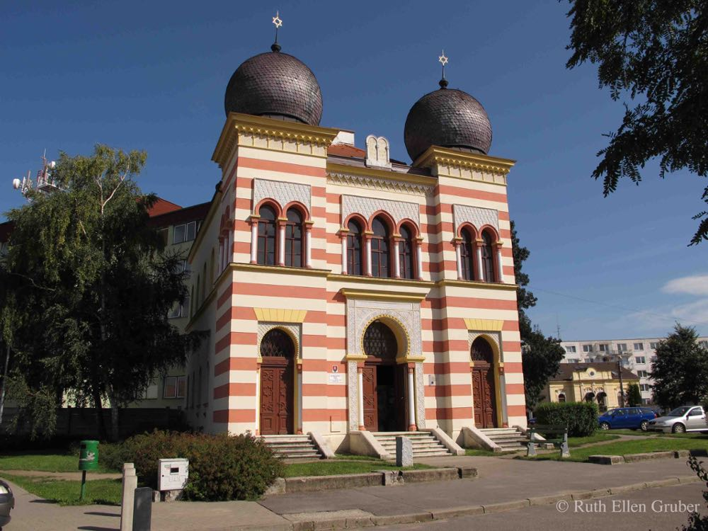 Synagogue in Malacky, Slovakia, used as art school